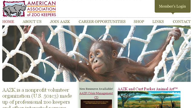 Visit the AAZK website